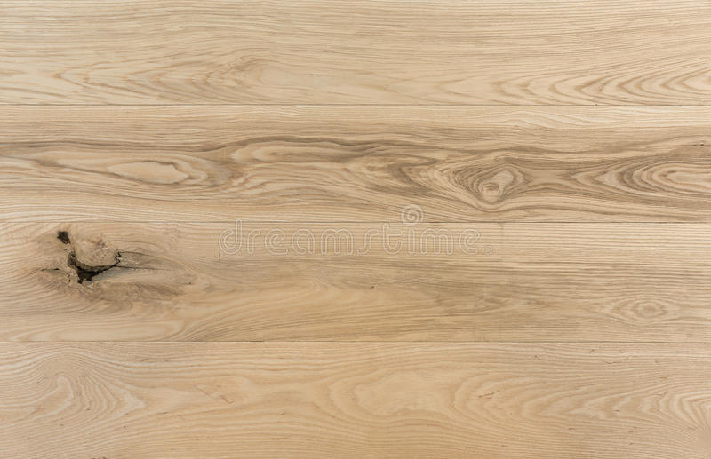 Seamless Ash Wood ~ American ash wooden boards with unsound knot stock photo