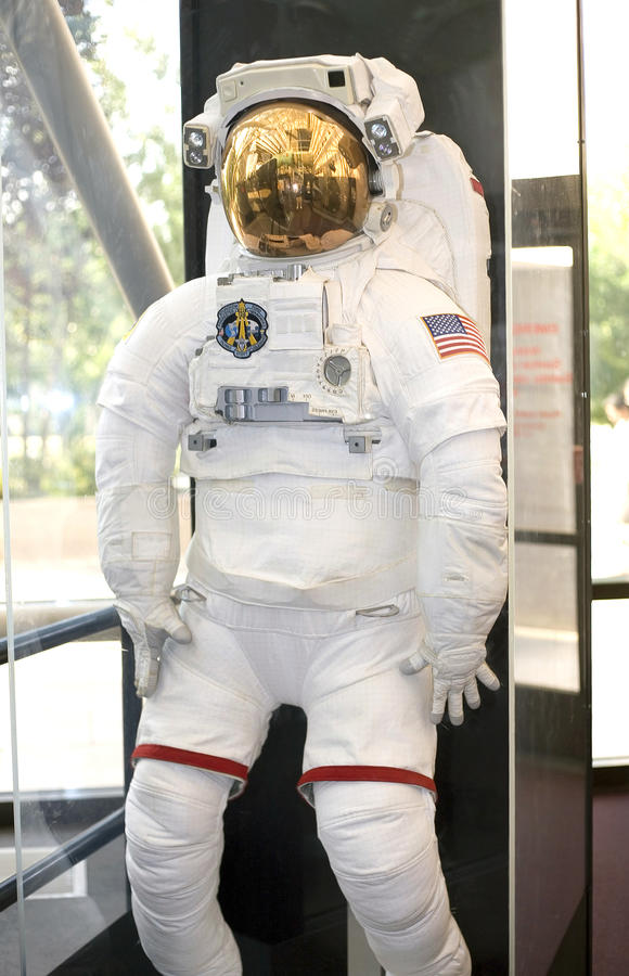 American Astronaut Space Suit royalty free stock photo