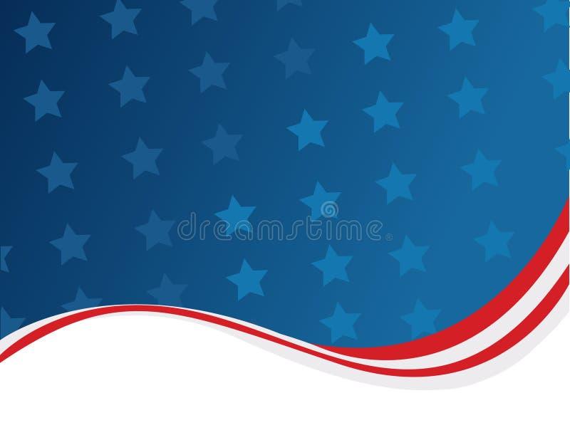american background flag иллюстрация вектора