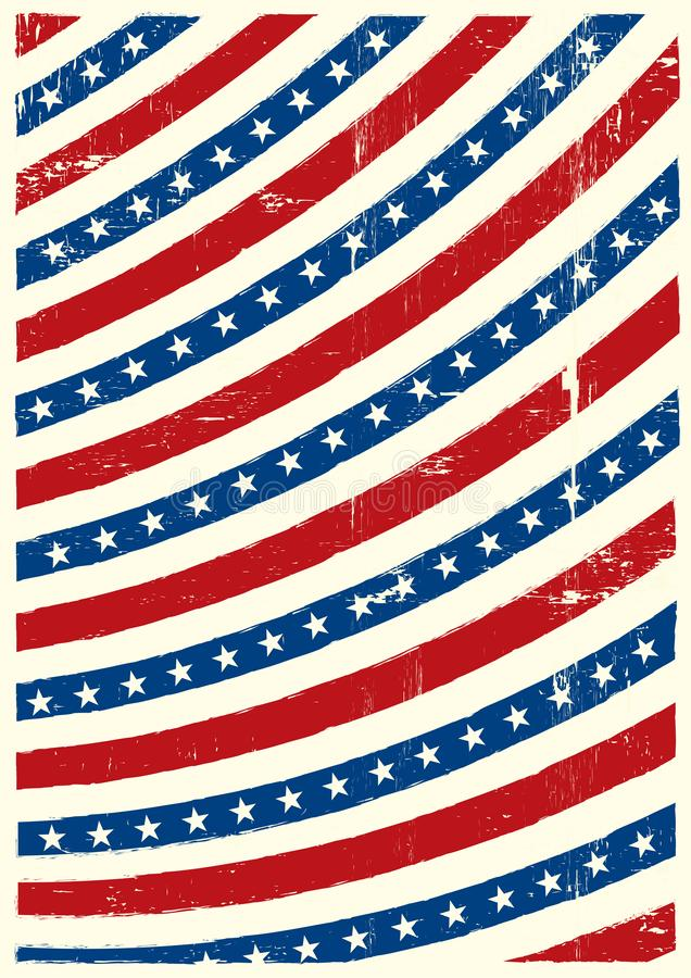 Usa dirty background royalty free stock photos
