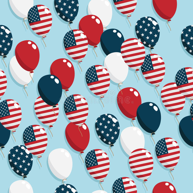 American Balloons Stock Photography