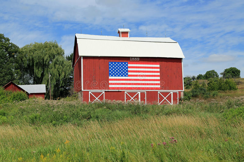American Barn royalty free stock images