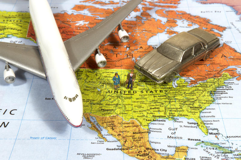 American Business Travel royalty free stock image