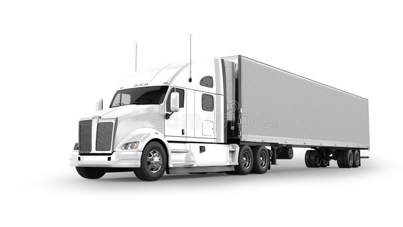 American Cargo Truck stock illustration