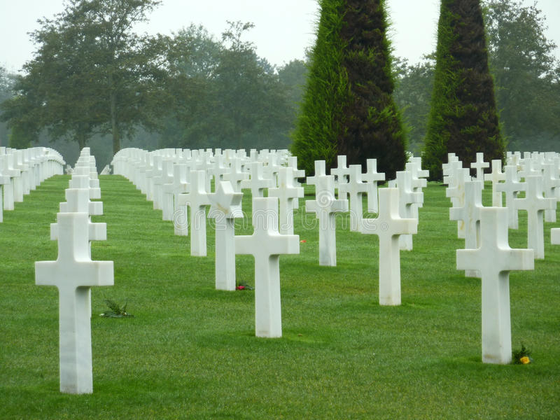 Download American Cemetery Of Colleville Stock Image - Image: 25309261