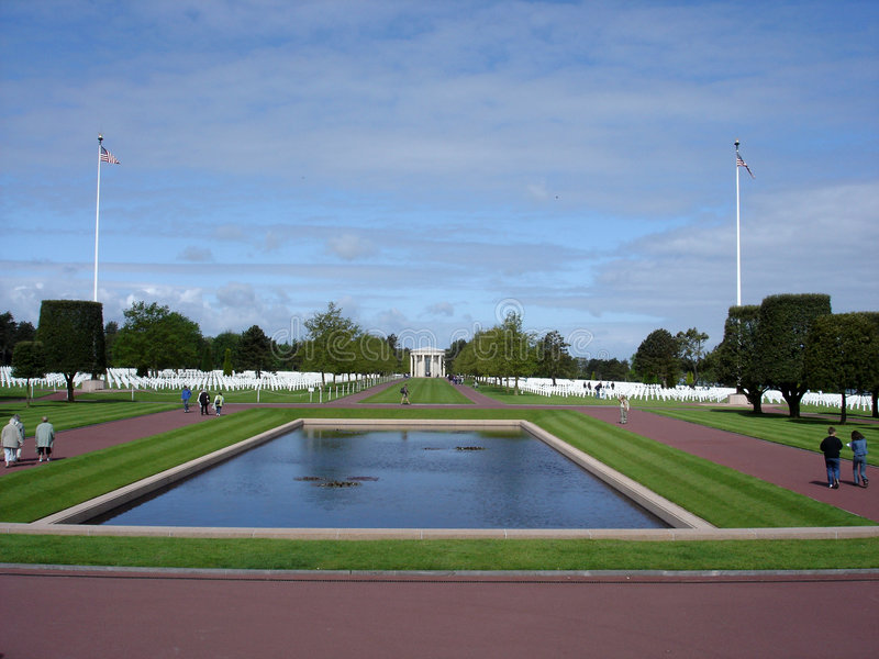Download American Cemetery In Normandy Stock Image - Image: 2319199