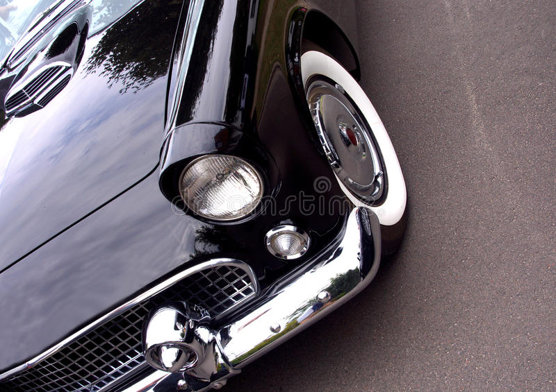 Download American Classic Car - Closeup Of Front Stock Image - Image of transportation, collector: 26367401