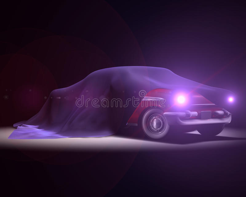 American Classic Car Presentation royalty free stock images