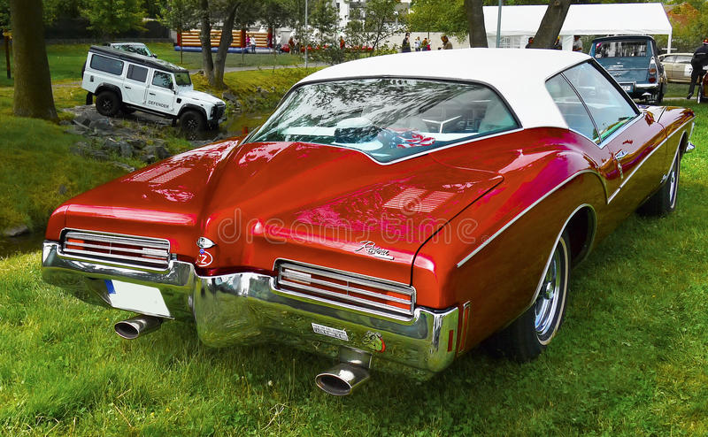 Vintage American Classic Car, Buick Riviera royalty free stock photography
