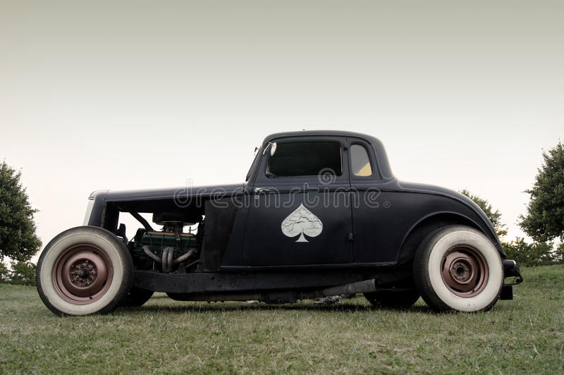 Download American Classic - Rat Rod Stock Images - Image: 18437984