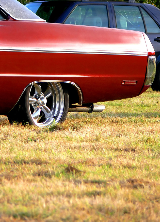 Download American Classic - Red End stock image. Image of rear - 3080203