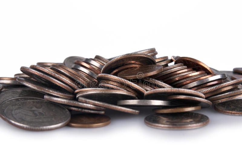 Download American Coins stock photo. Image of debt, several, piled - 30841392