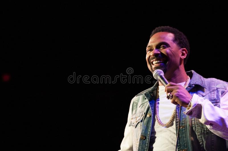 American comedian Mike epps. Mike epps in greensboro north carolina October 17 2014 stock images