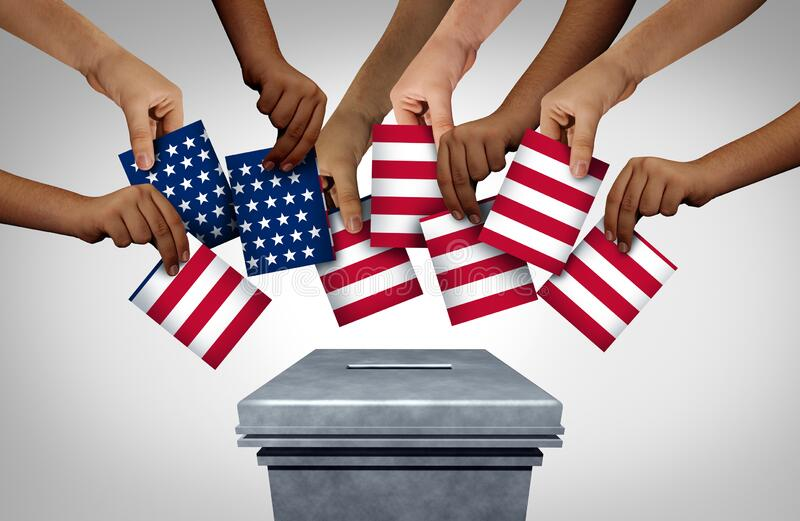 American Community Vote royalty free stock images