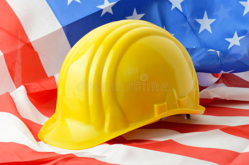 American construction royalty free stock photography