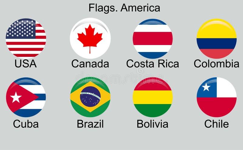 Cuba American Caribbean Countries of South America Ecuador Flag Flags T Shirt