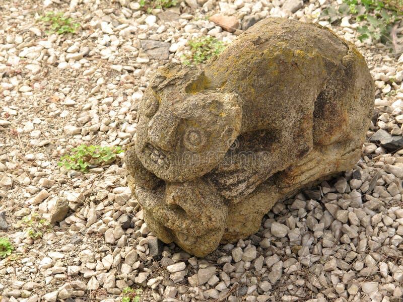 American culture icon. Peruvian pre-Inca ceramics stock image