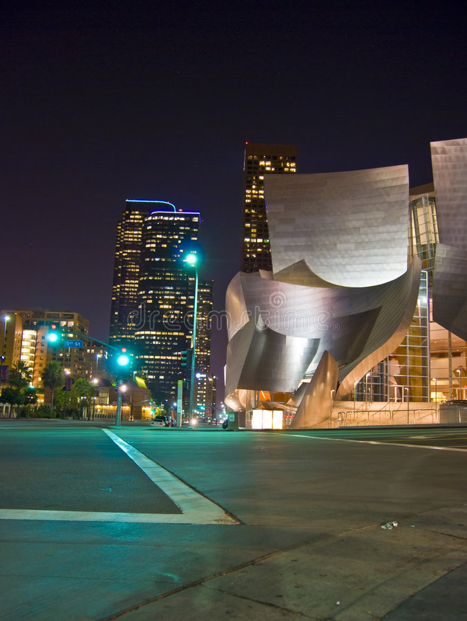 American curved Architecture royalty free stock photos