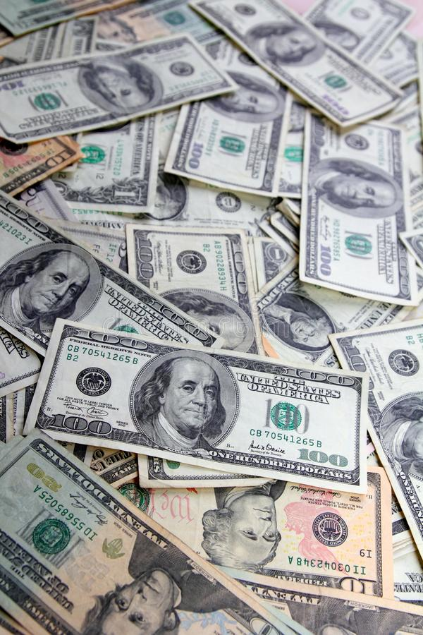 Download American Dollar Bank Notes Many Banknotes Bills Stock Photo - Image: 18616128