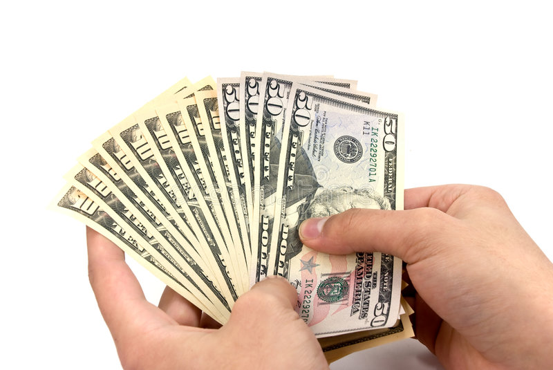 Download American Dollar Banknote In The Hand Stock Photo - Image of greenbacks, bills: 7210130