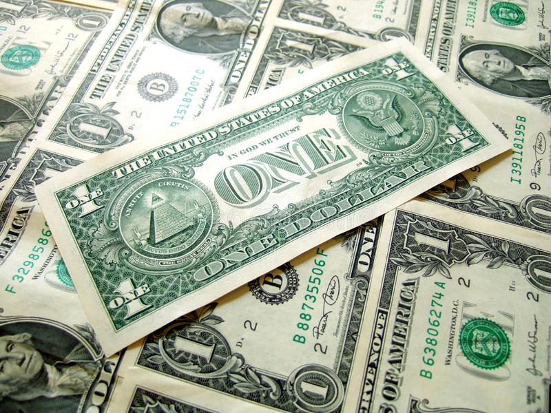 American Dollar PACK royalty free stock photography