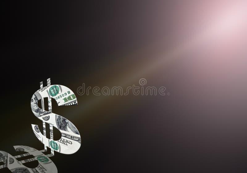 Download American Dollar Symbol On Violet Background Stock Illustration - Illustration of economic, banking: 10278411
