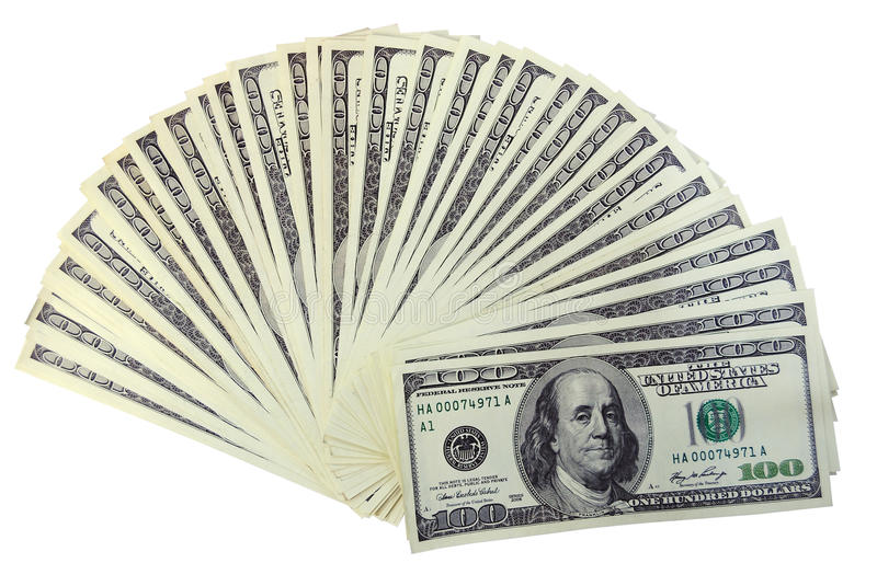 Download The american dollars stock photo. Image of dollar, franklin - 10006668
