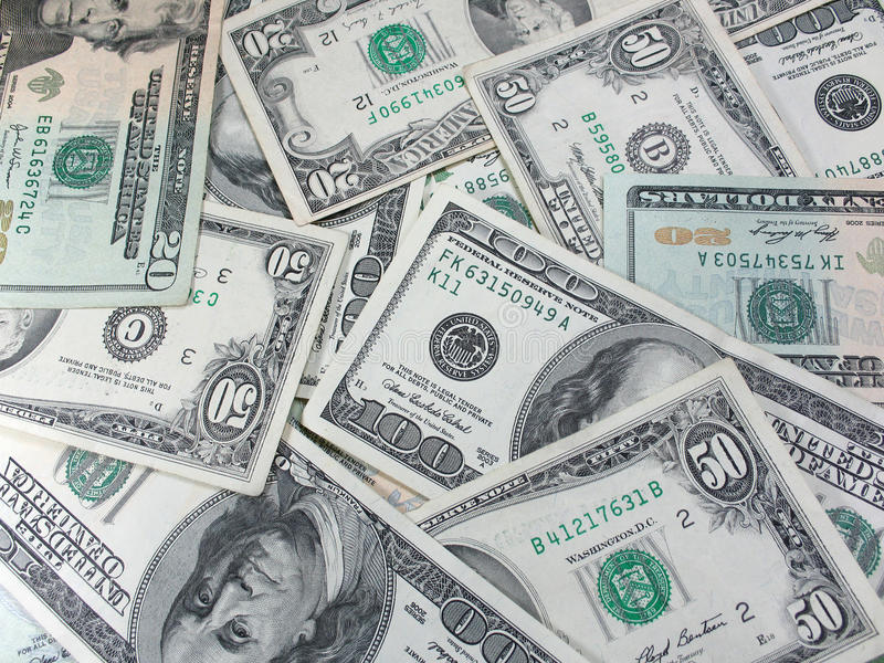 Download American dollars stock photo. Image of backgrounds, large - 9627850