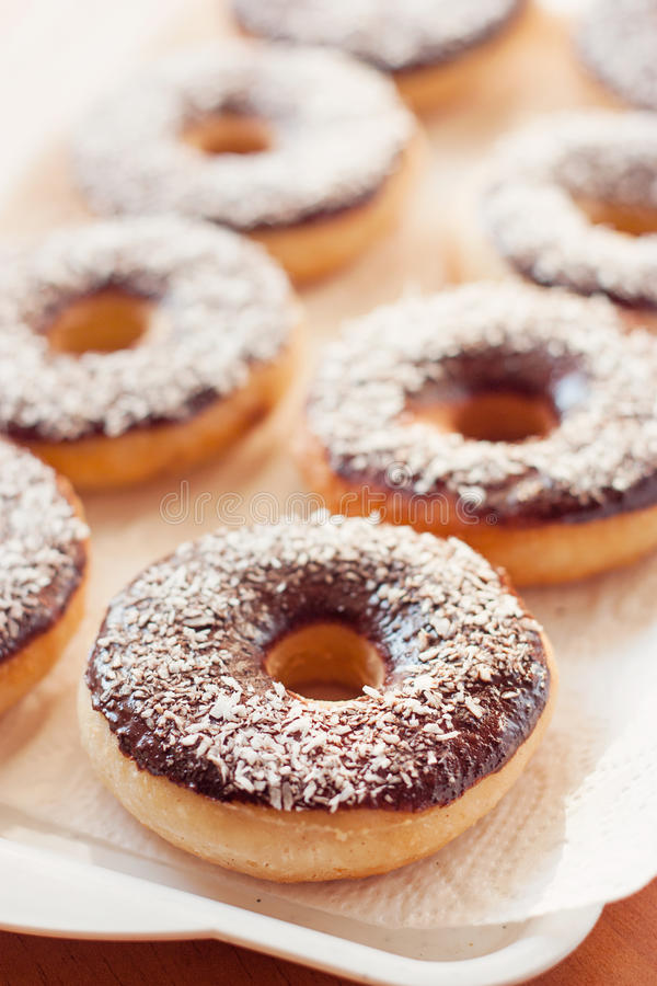American donuts royalty free stock photos