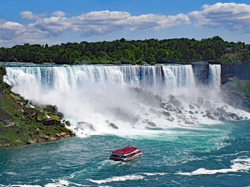 The American Falls royalty free stock images