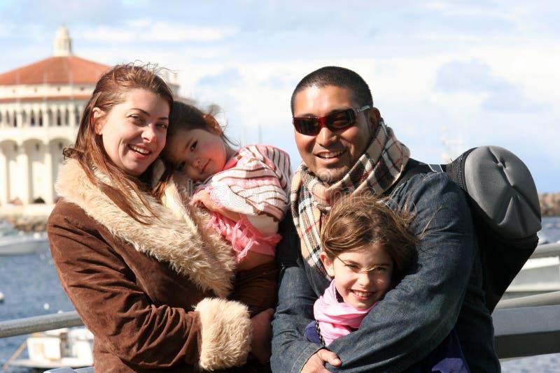 American Family. Family vacation photo, Catalina Island