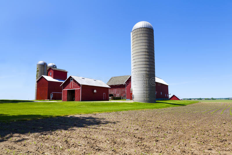 Download American Farm stock image. Image of market, rural, american - 24814163