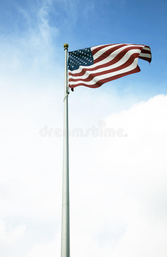 American flag 029 stock images