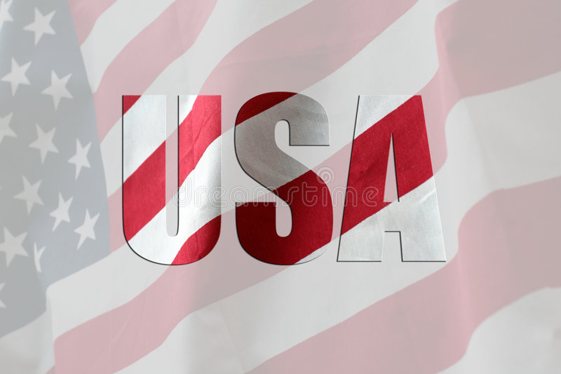 American Flag. The American Flag Stars and Stripes stock photos