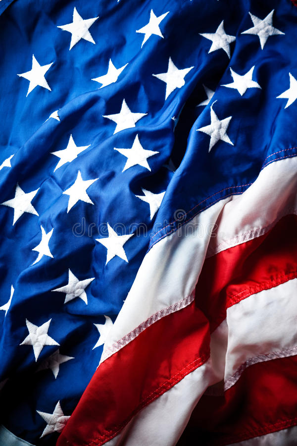 Free American Flag Royalty Free Stock Photography - 15551317