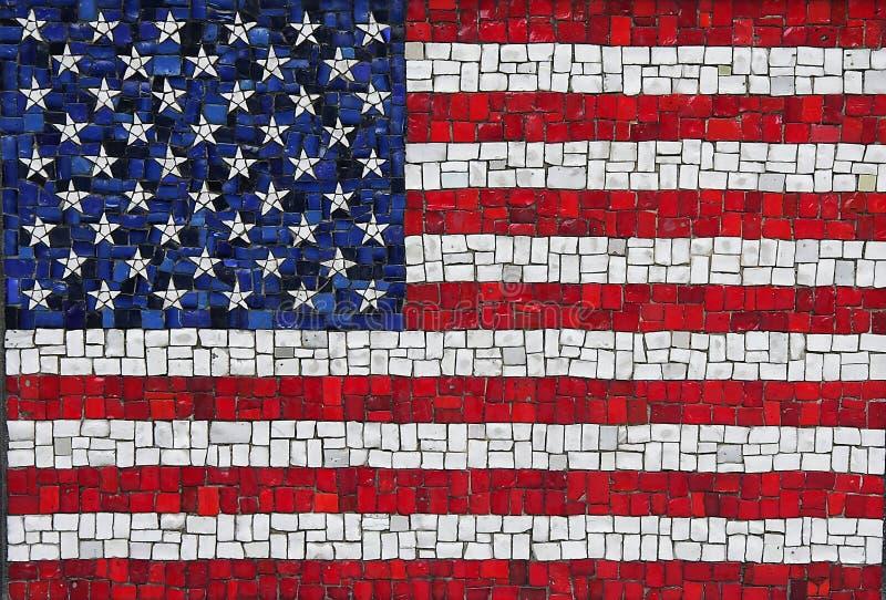 Download American flag stock photo. Image of dirty, mosaic, patriotism - 17812432