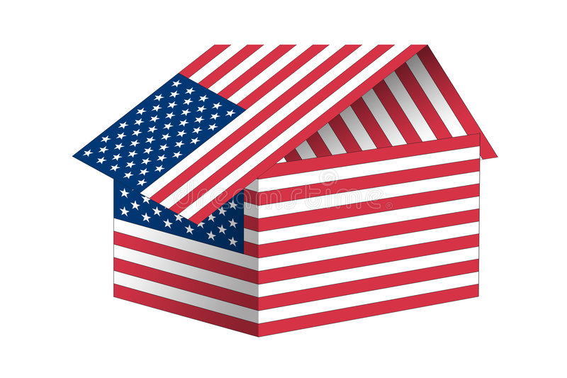 american flag ελεύθερη απεικόνιση δικαιώματος