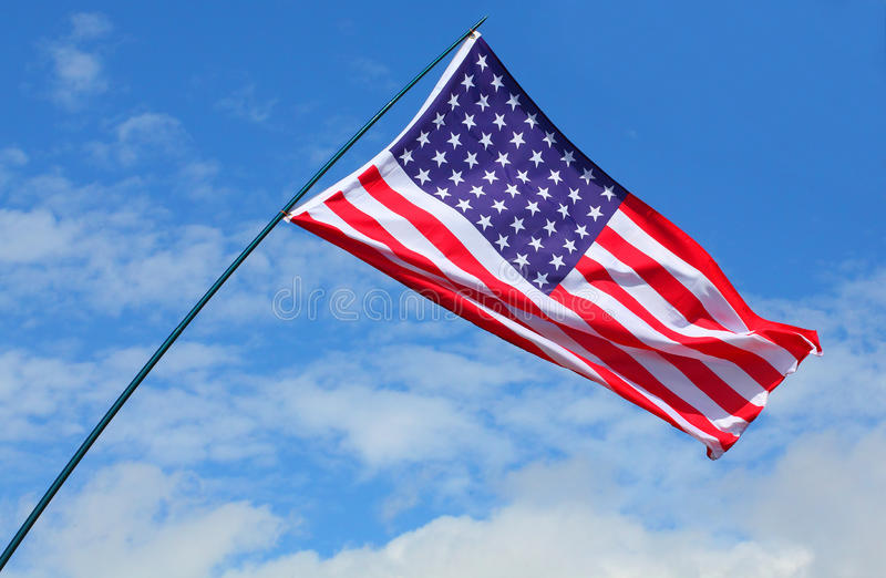 Download American flag. stock image. Image of flag, state, states - 26345721