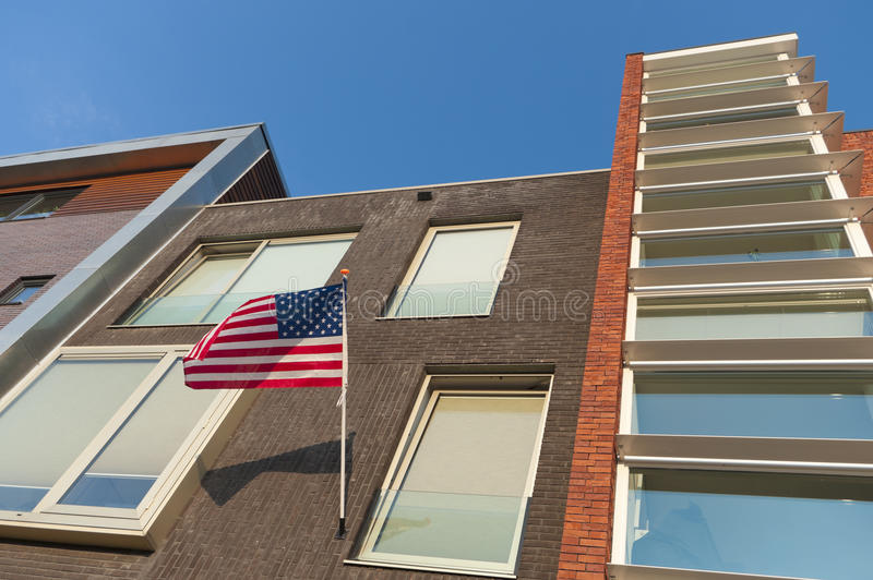 Download American flag stock photo. Image of stars, dwelling, fourth - 26856882