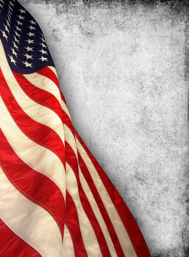 American flag. The american flag on background royalty free stock photos