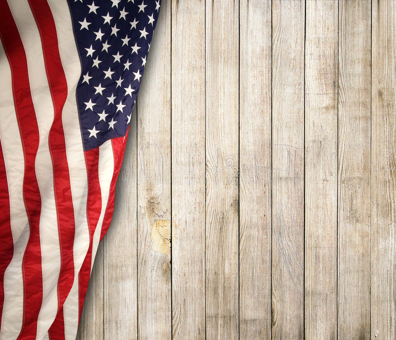 American flag. The american flag on the background royalty free stock image