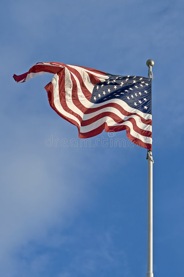 Free American Flag Royalty Free Stock Photography - 6828007