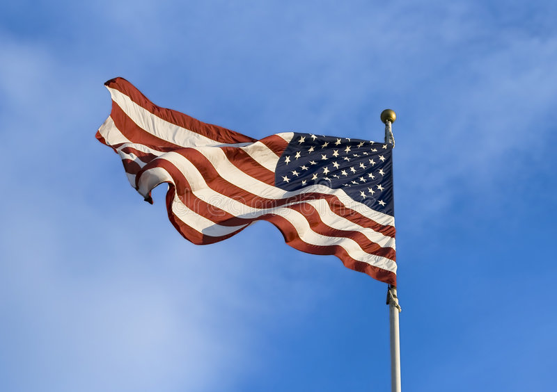 Download American flag stock photo. Image of banner, bright, patriotism - 6828060