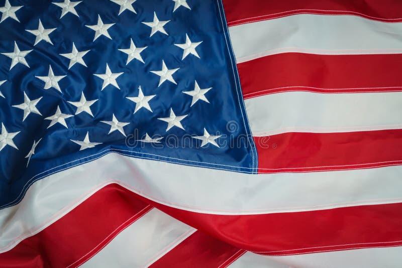 .American flag. American flag stock image