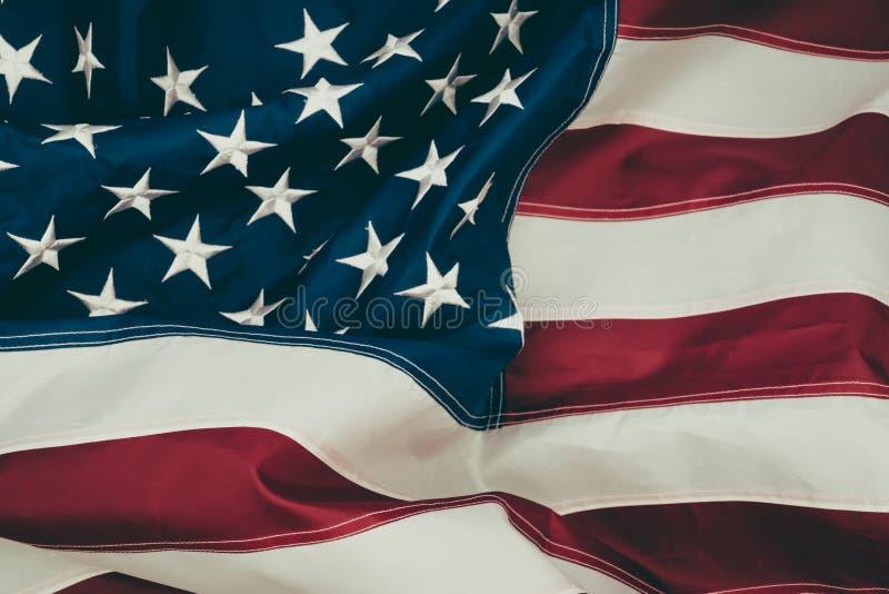 .American flag. American flag royalty free stock photo