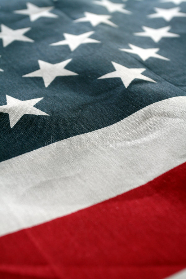 American Flag. The American Flag Stars and Stripes stock image