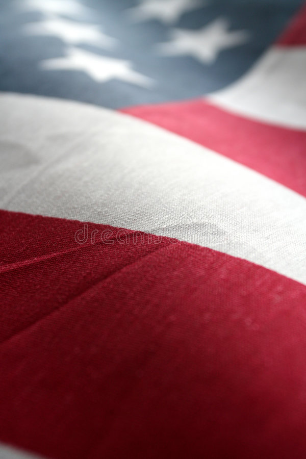 American Flag. The American Flag Stars and Stripes royalty free stock photo