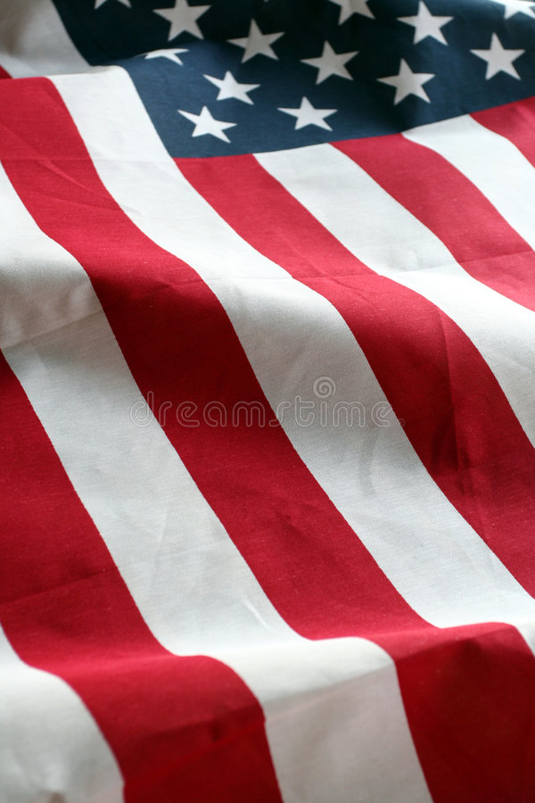 American Flag. The American Flag Stars and Stripes royalty free stock photography