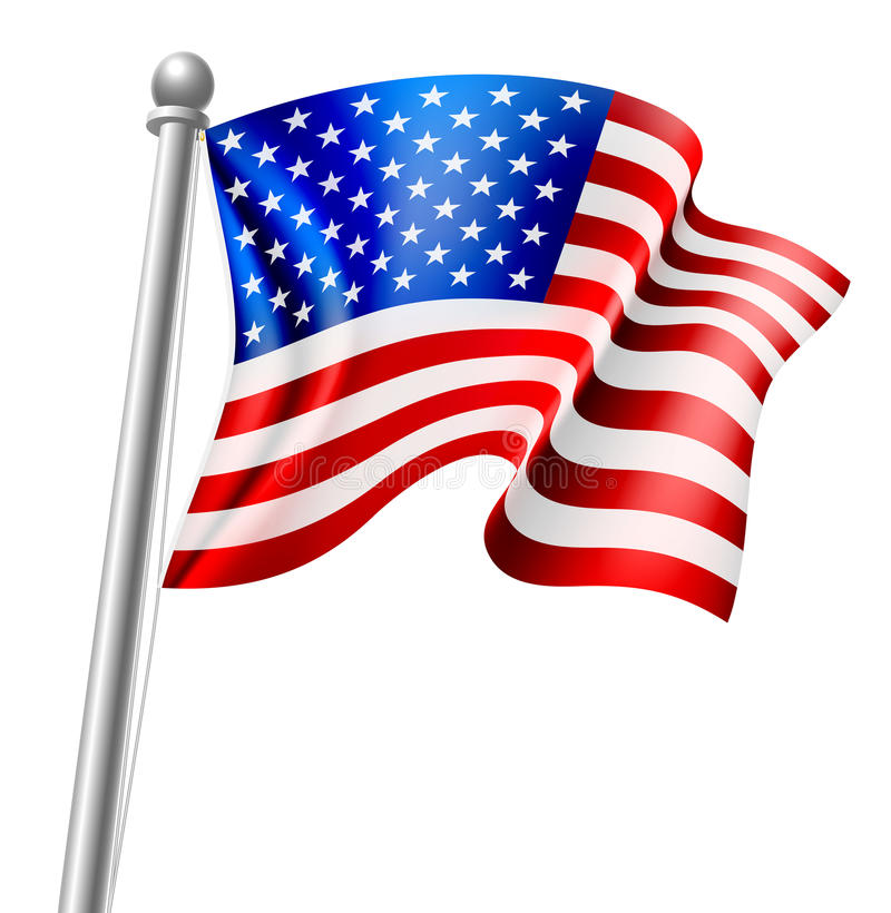 Free American Flag Stock Photography - 84344742