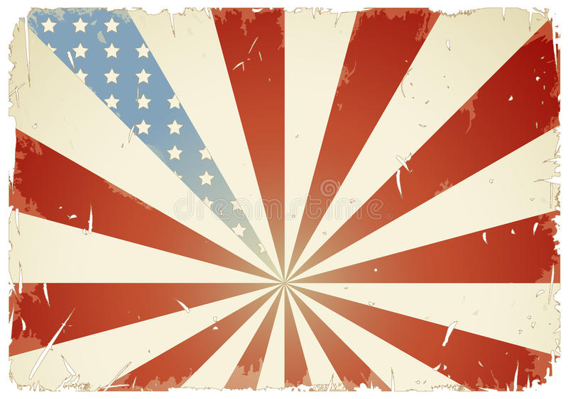 Download American flag background stock vector. Image of history - 11535072